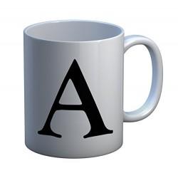 Alphabet Letter Mugs